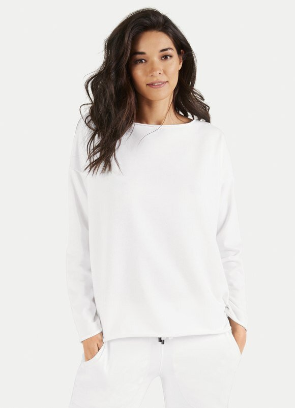 Juvia Sweater weiß