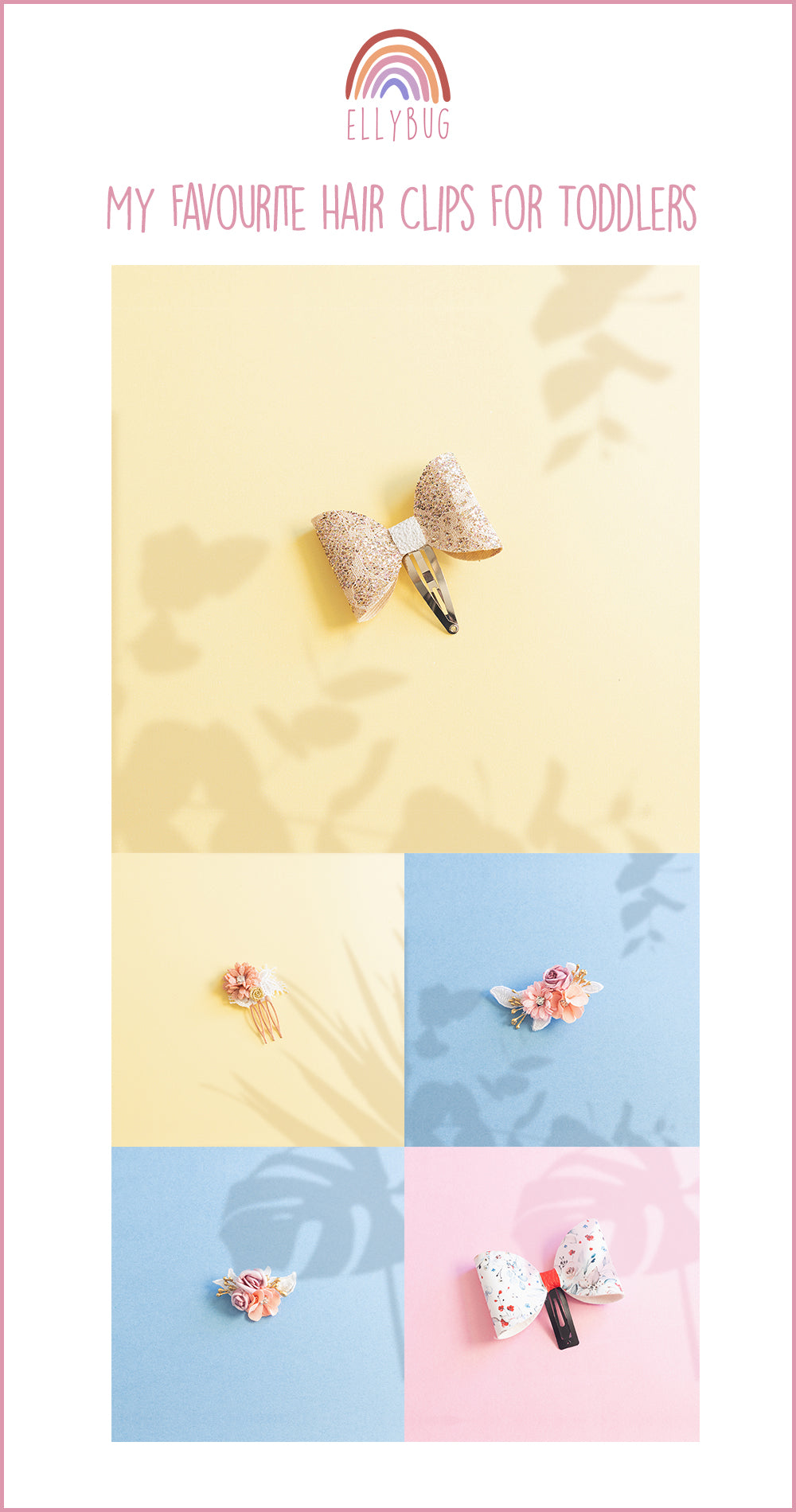 My Favourite Hair Clips For Toddlers