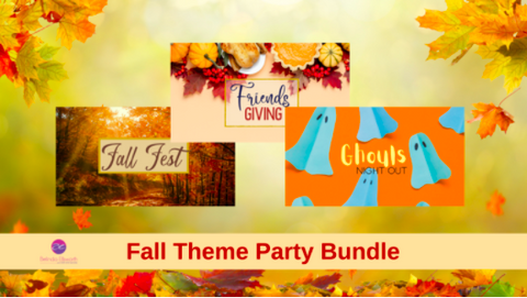 Fall Facebook Theme Party Bundle