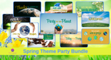 Spring Facebook Theme Party Bundle
