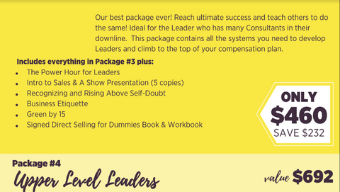 Package 4: UPPER LEVEL LEADERS