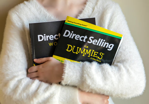 Copy of Direct Selling for Dummies Book and Workbook Package (Signed Copy)