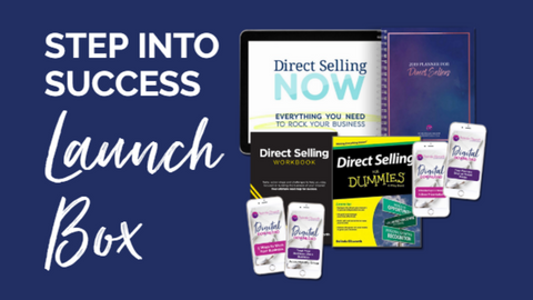 Step Into Success Launch Box