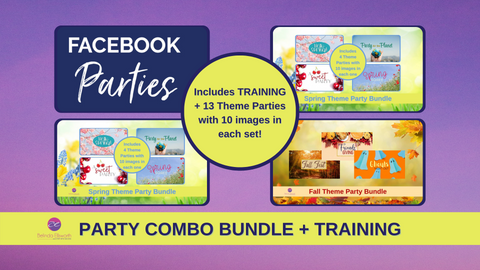 Facebook Party Course with the Facebook Party Theme Bundle