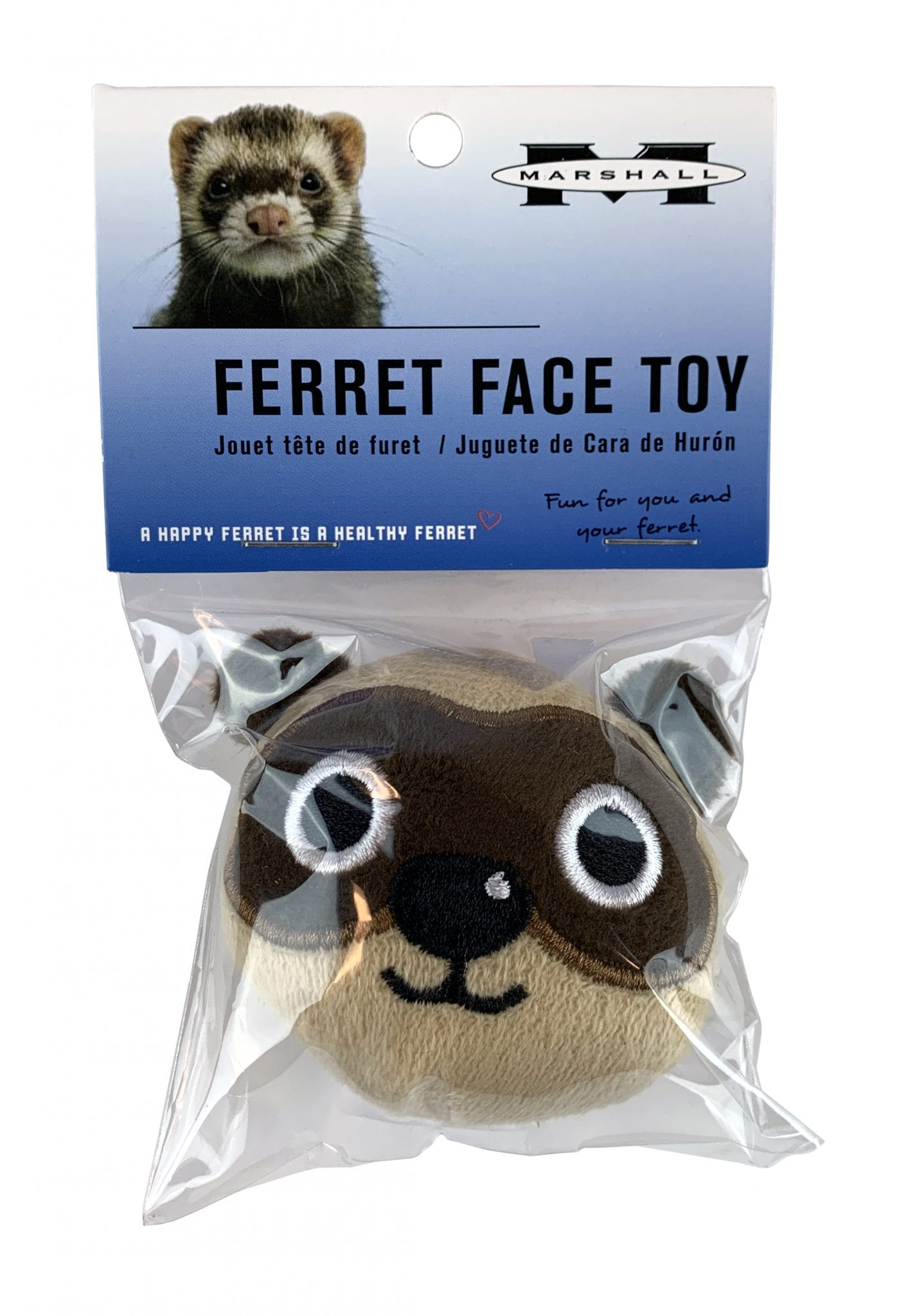 Ferret Face Toy