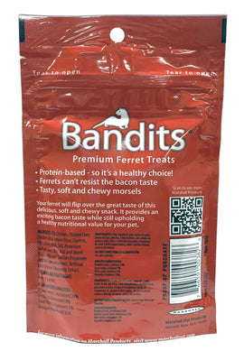 Bandits Premium Ferret Treats, Bacon Flavor