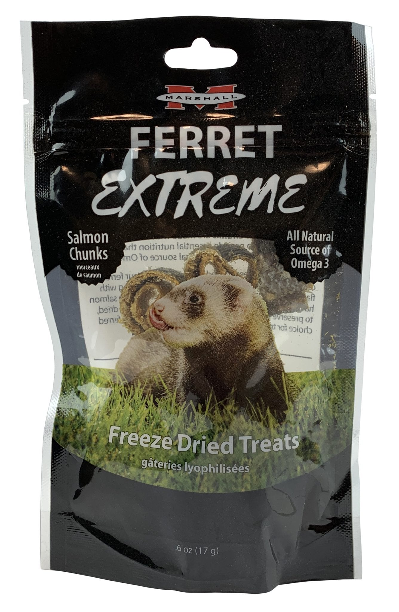 Ferret Extreme Freeze Dried Salmon, .3 oz