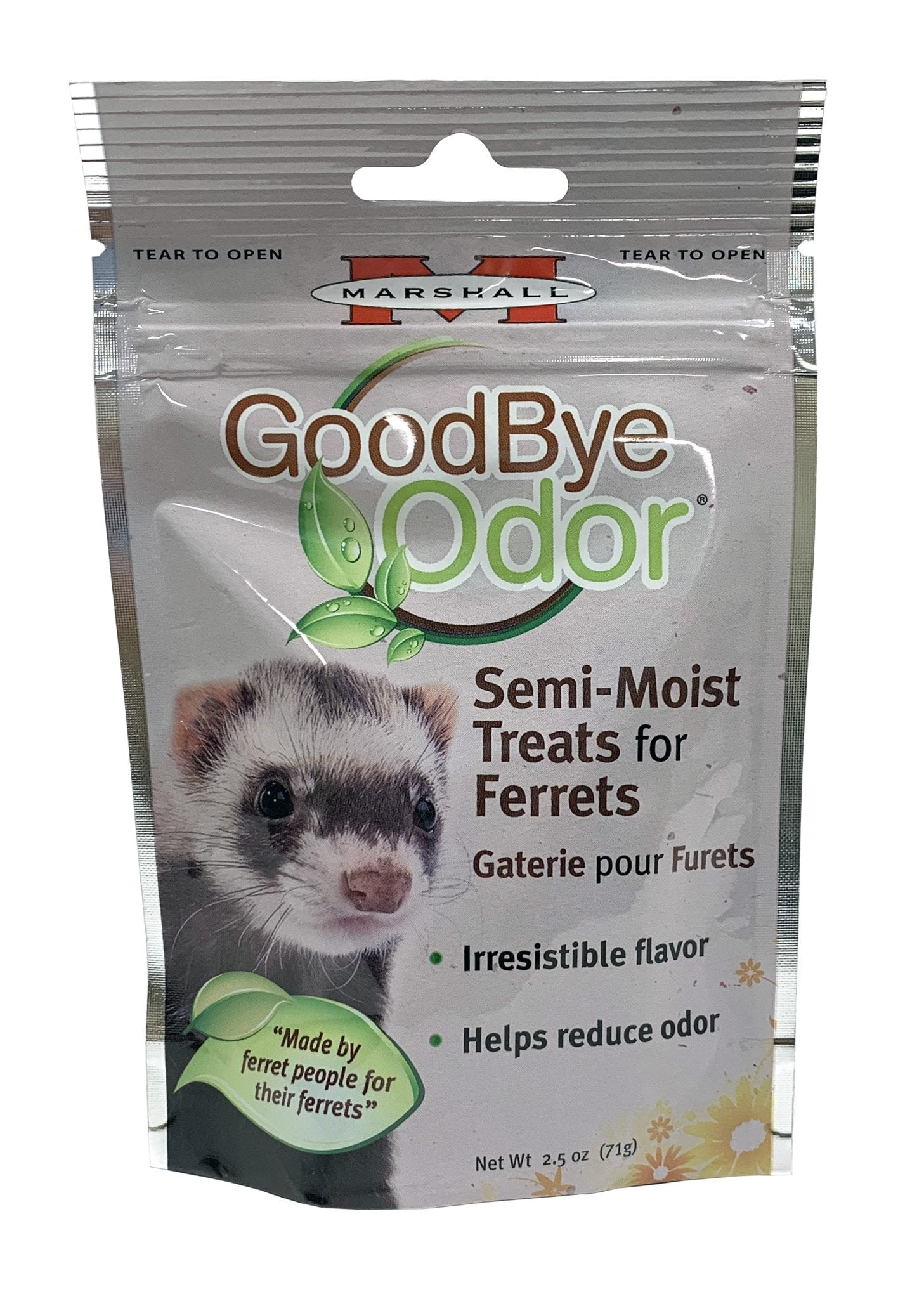 GoodBye Odor Ferret Treats, 2.5 oz
