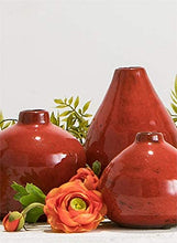 Load image into Gallery viewer, Small Ceramic Vase Set of 3 - Lucia Gardens