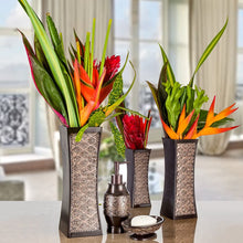 Load image into Gallery viewer, Dublin Decorative Vase Set of 3 Durable Resin - Lucia Gardens