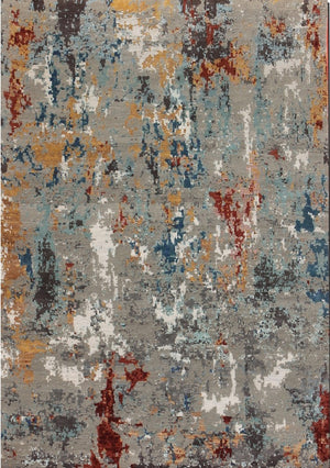 Carpet Couture Hand-Knotted Carpets made of Bamboo Silk Rectangular Modern for Indoor Use