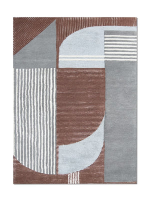 Carpet Couture Hand Tufted Carpet made of Wool + Nylon & Tencel Rectangular Modern for Indoor Use 151 cm x 242 cm