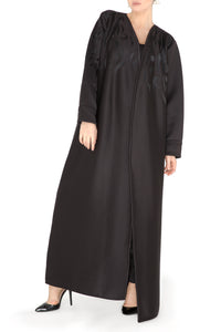 Foam Embroidered Abaya