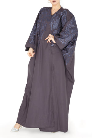 Royal Embroidery Abaya