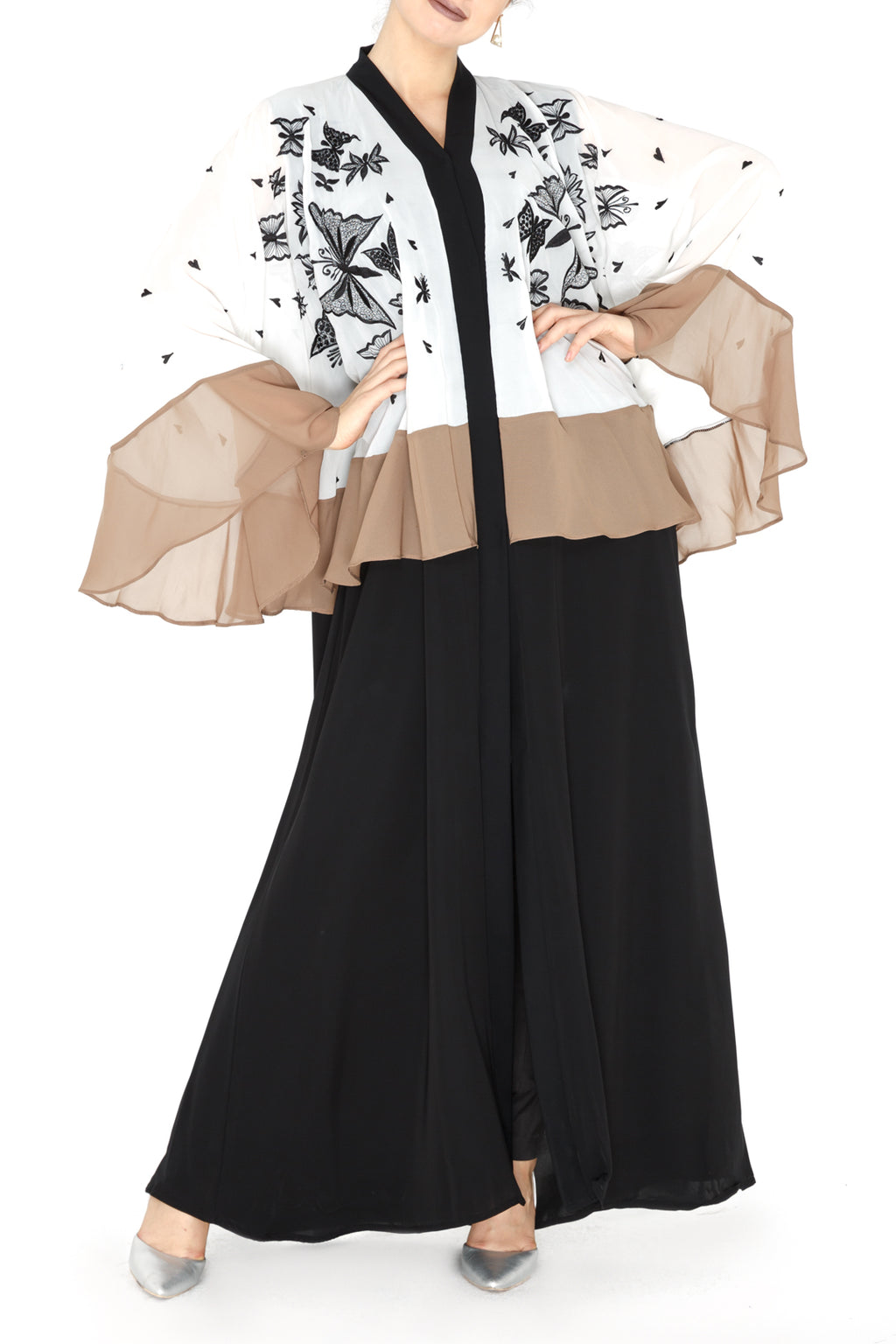 Butterfly Airy Abaya