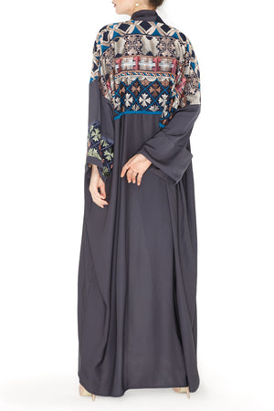 Casa Embroidered Abaya