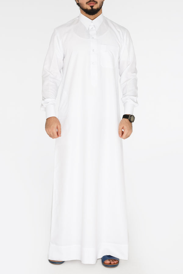 Everyday Qatari Kandora White