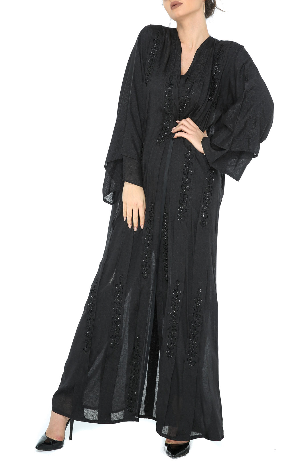 Pintuck Pleat Abaya