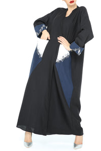 Embellished Pocket Sleeve Abaya