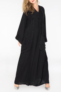 Triple Layered Symmetrical Abaya