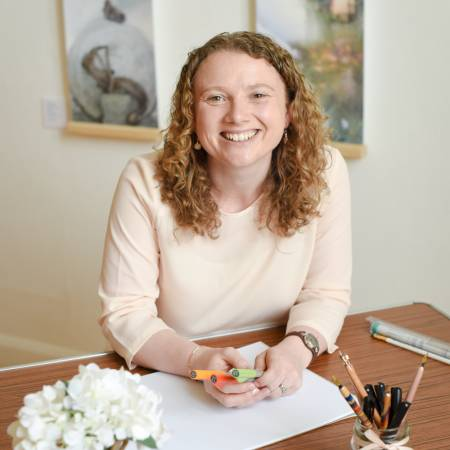 Meet calligrapher and teacher, Angela Reed from Creative Calligraphy
