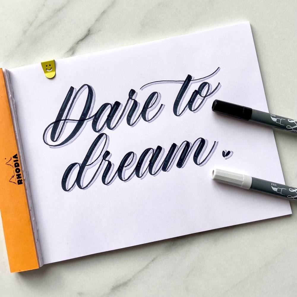 Dare to Dream by Andra from Adadletters