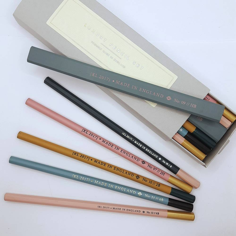The classic shades of these pencils are a delight