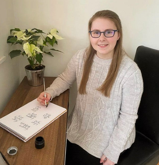 We chat to Jessamin Foster from Jessamin Love Calligraphy