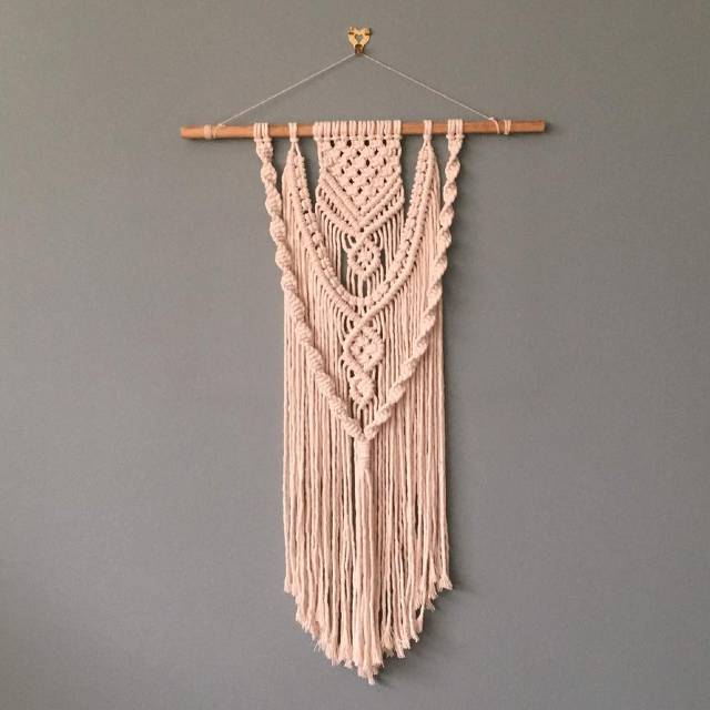 Macrame hanging from Tassel & Twine