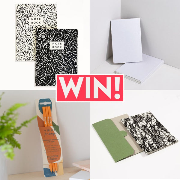 Win a sustainable stationery set from Pen Pusher worth over £40