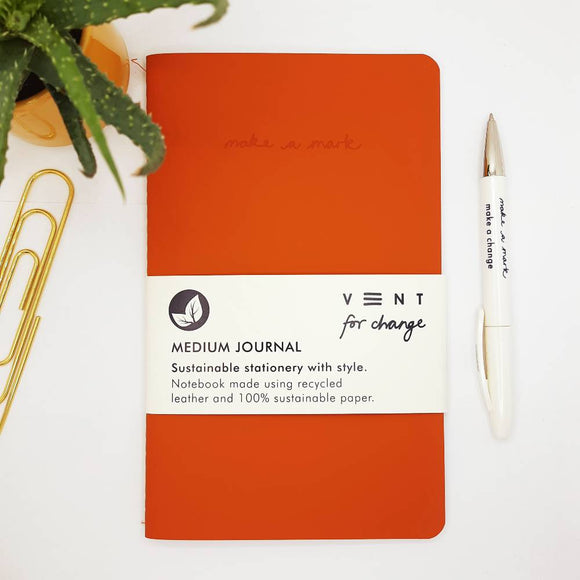 VENT For Change Make a Mark Medium Journal - 6 colours available