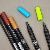 ONLINE Calli.Twin double-tip marker - 5 colours available