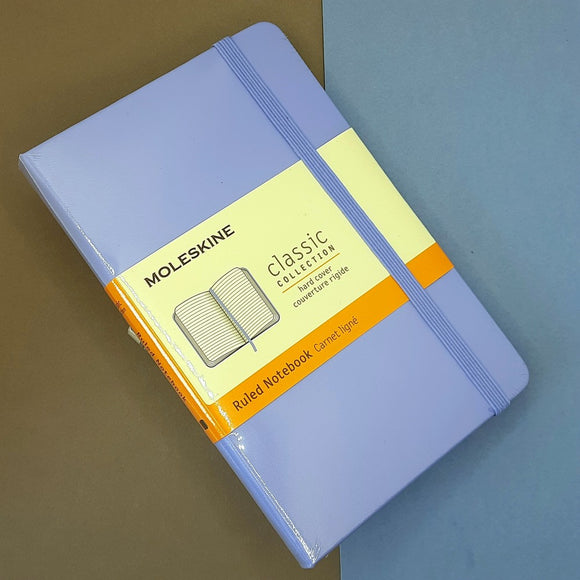 Moleskine Pocket Notebook ruled with hard cover