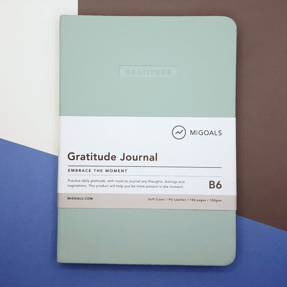 Embrace daily mindfulness with this gratitude journal from migoals