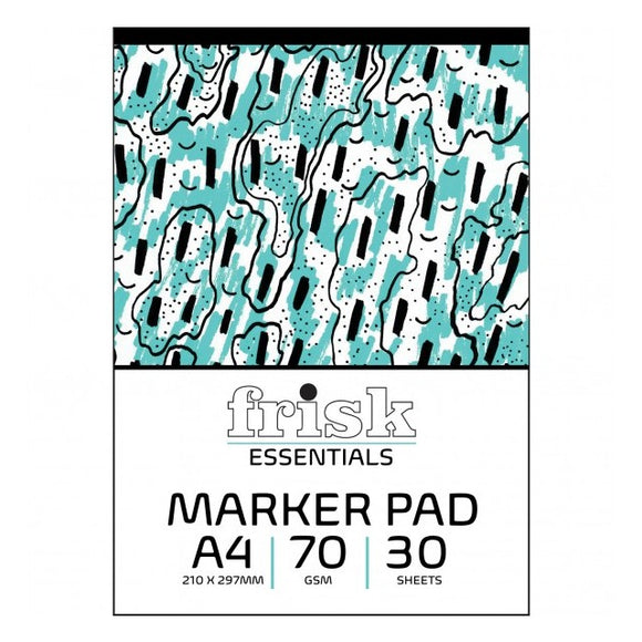 Frisk Essentials A4 Marker Pad - 30 sheets