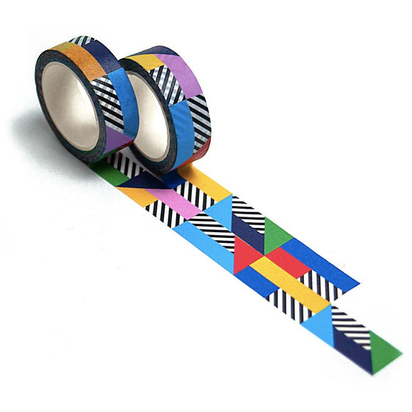 Nolki Graphic Washi Tape - Runway