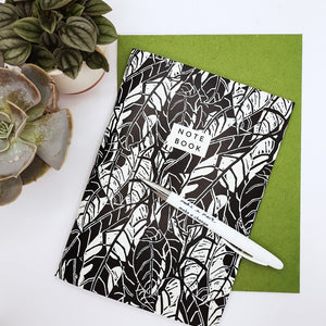 A5 Avocado notebook and folder from Studio Wald