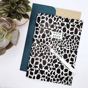 A5 Cobbles notebook from Studio Wald
