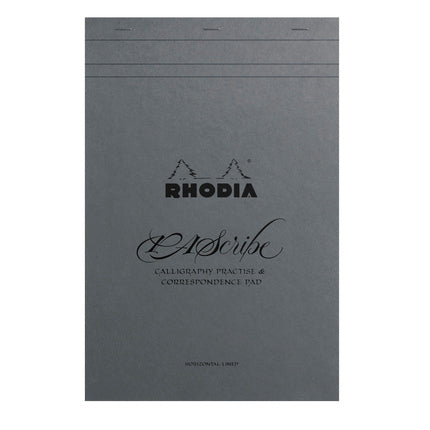 Rhodia PAScribe Maya No.19 A4+ Calligraphy Pad - grey