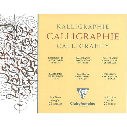 Clairfontaine Calligraphy Pad