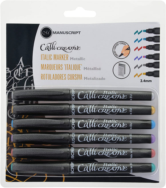Manuscript CalliCreative Metallic Pens - 6 pen set