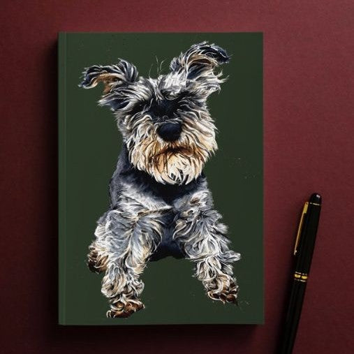 Some Ink Nice Ollie The Schnauzer A5 notebooks