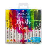 Ecoline Brush Pen Set 10 Bright