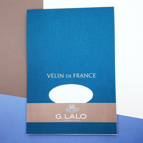G Lalo A5 vellum correspondence pad - 50 sheets