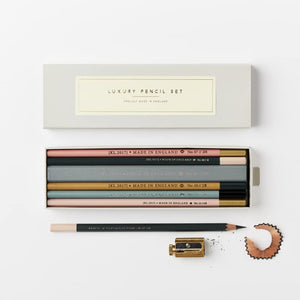 Luxury Pencil Set from Katie Leamon - an thoughtful gift for stationery lovers