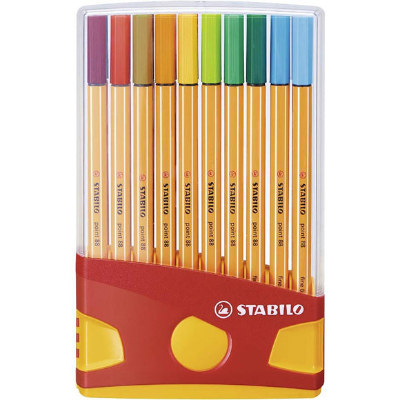 STABILO point 88 Fineliner - 20 pack