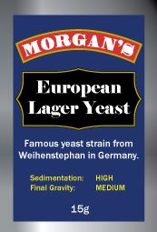 Morgan's European Lager Yeast