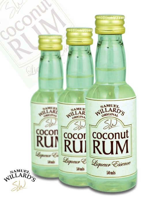 Samuel Willard's 50ml Coconut Rum