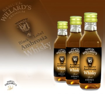 Samuel Willard's Premium Black Label Ambrosia Whisky
