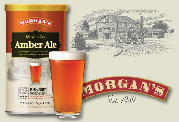 Morgan's Royal Oak Amber Ale